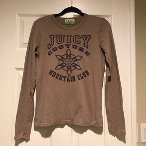 Juicy Couture Mountain Club Shirt Size L